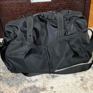 Lululemon Gym / Travel Bag - Black